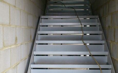 Staircase In Car Garage Premises (2)