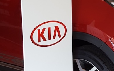 KIA Marketing Stand